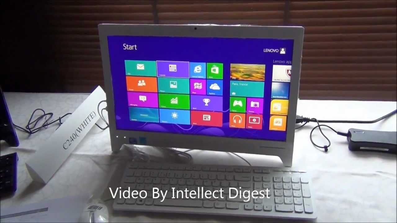 lenovo essential c240 all in one review strip down and