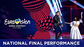 Joci Pápai - Origo (Hungary) Eurovision 2017 - National Final Performance