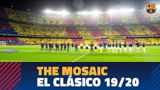 The camp nou's incredible mosaic and ...