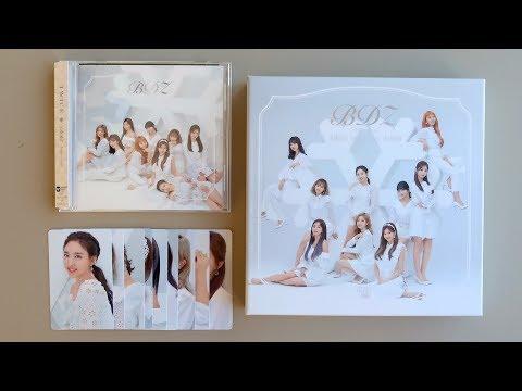 """トゥワイス TWICE Japan 1st Full Album """"BDZ"""" (Repackage) Unboxing Mp3"""