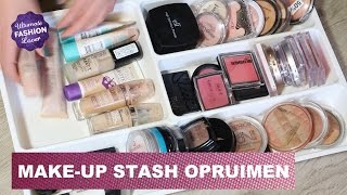 Make-up Stash Opruimen en Uitzoeken Thumbnail