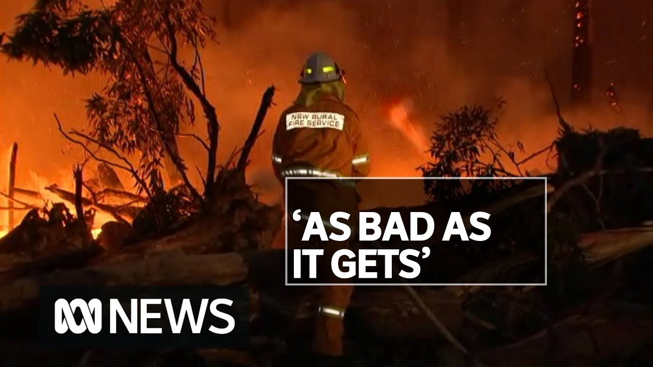 6 million NSW residents bracing for the worst in unprecedented fire conditions | ABC News