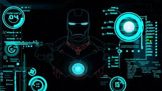 SKIN DE RAINMETER IRON MAN