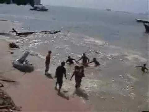 Tsunami 2004 Krabi Thailand Real Video Found By Tourist