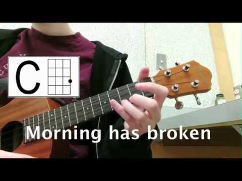 Morning Has Broken Ukulele chords by hymn - Worship Chords