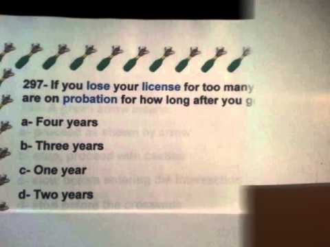 New Jersey Dmv Permit Driving Knowledge Test Practice Exam