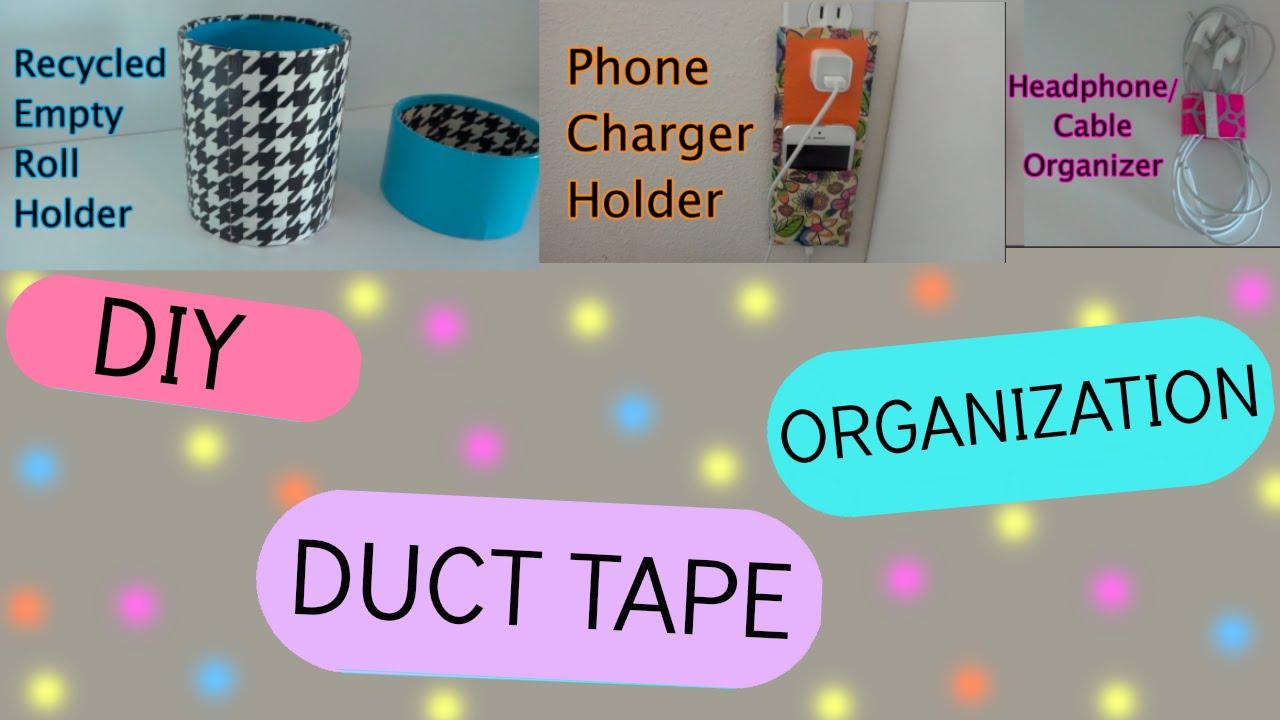 Diy Room Organization Phone Charger Holder Pencil Holder