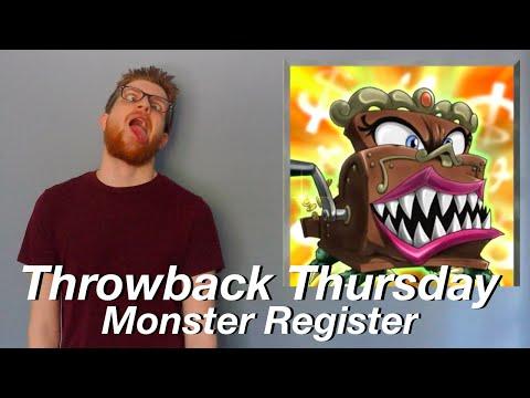 Yu-Gi-Oh Throwback Thursday | Monster Register!
