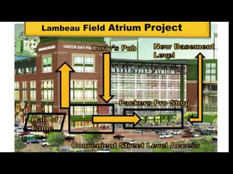 Lambeau Field Atrium Renovation Project