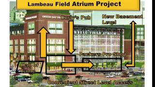 Lambeau Field Atrium Renovation Project