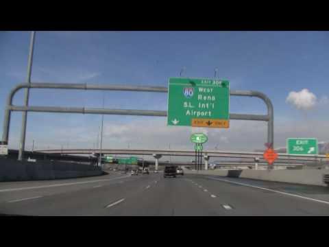 I-15 North (UT), Salt Lake City, Exit 298 To Exit 313