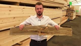 Выбор доски для строительства. Как отличить зеленый лес от сухостоя.