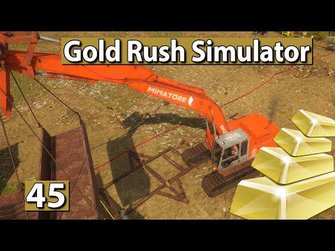 GOLDGRÄBER SIMULATOR 💰 Da fehlte noch was… ► #45 Gold Rush Gameplay deutsch