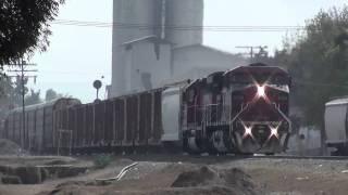 Trenes en las Juntas - Guadalajara - Intermodal, Maquinas solas y Mixto