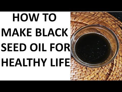 How To Make Cold Pressed Black Seed Oil At Home And Health Benefits  #Blackseedoil #Sesameseedoil