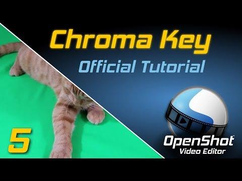 Chroma Key | OpenShot Video Editor Tutorial