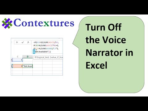 Excel Is Talking to Me – Contextures Blog