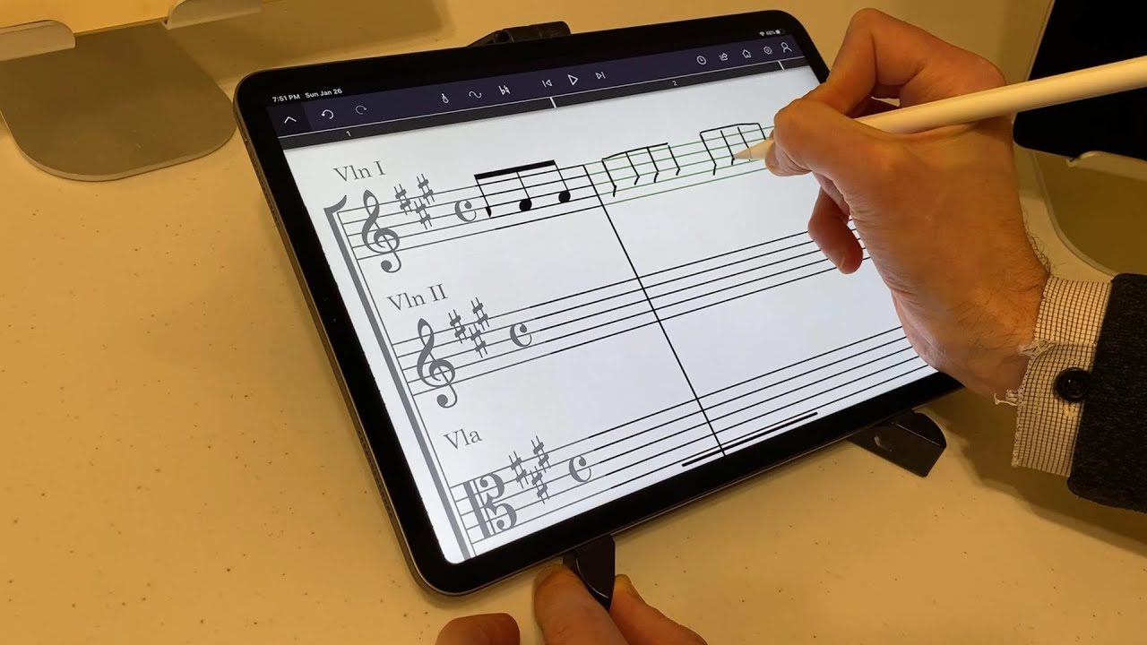 StaffPad and Reader for iPad review - YouTube