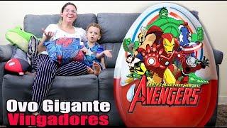 Ovo Gigante dos Vingadores - Avengers