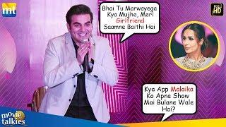 Arbaaz Khan TROLLS Media Reporter When Asked About Ex-Wife Malaika Arora