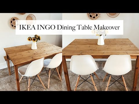 IKEA INGO - DIY Dining Table Makeover