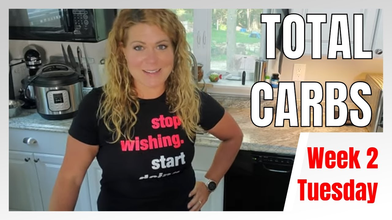 Keto Rewind TOTAL CARB Challenge Week 2 - Tuesday │Tracking Total Carbs Instead of Net Carbs #keto
