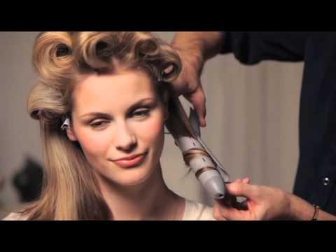 How to create retro curls