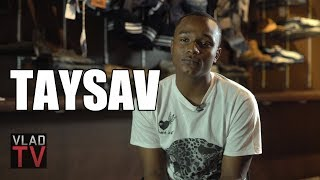 Taysav on Taking Gun Charge for His Brothers at 14 Because They Had Cases (Part 2)