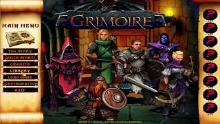 Grimoire Heralds of the Winged Exemplar Gameplay (PC game 2017).