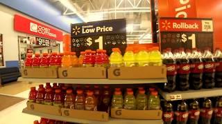 ケンタッキー州のWalmartに食材の買い物に行きました。 ウォルマートで...