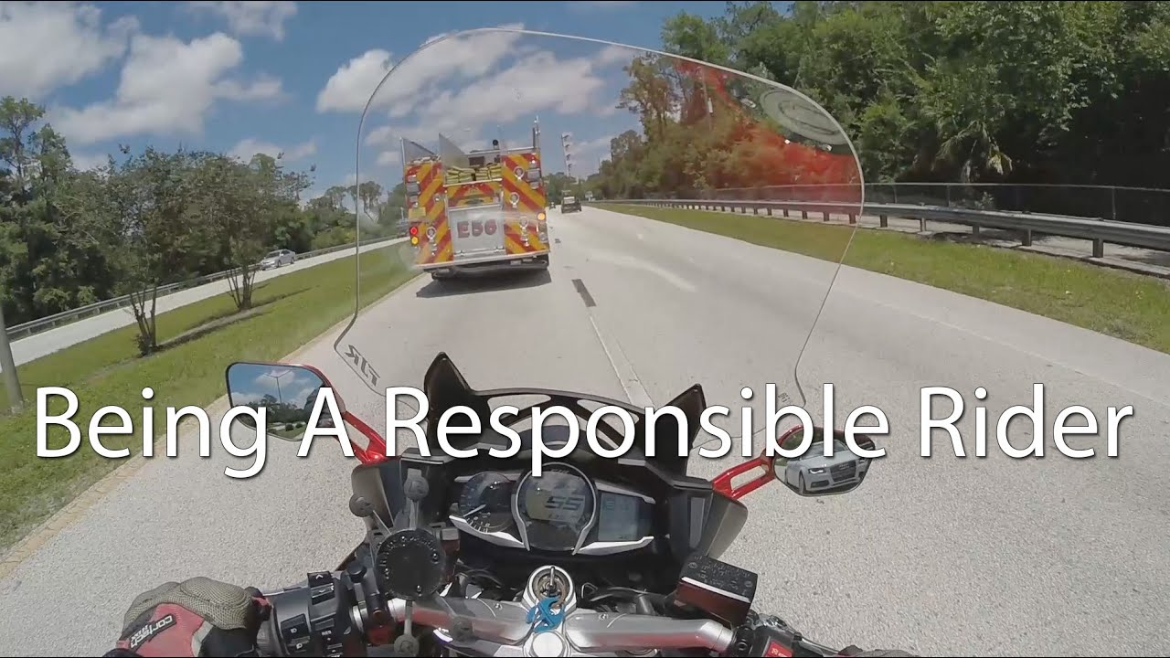 how to be responsible motorcycle What happens when a motorcyclist causes an accident in michigan if a motorcyclist causes an accident in michigan and is sued in a lawsuit for personal injuries, he will be liable for all of the damages he causes.