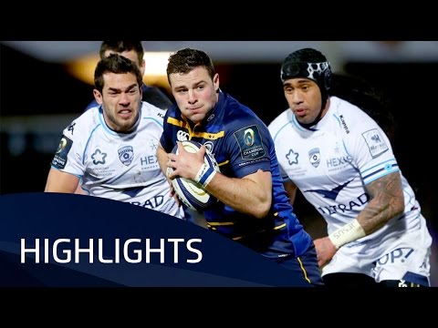 Leinster Rugby v Montpellier (Pool 4) Highlights – 13.01.2017