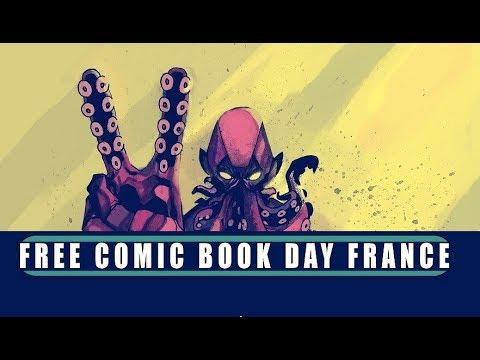 Vlog : le FCBD 2018, tous les titres et mes avis (Free Comic Book Day)