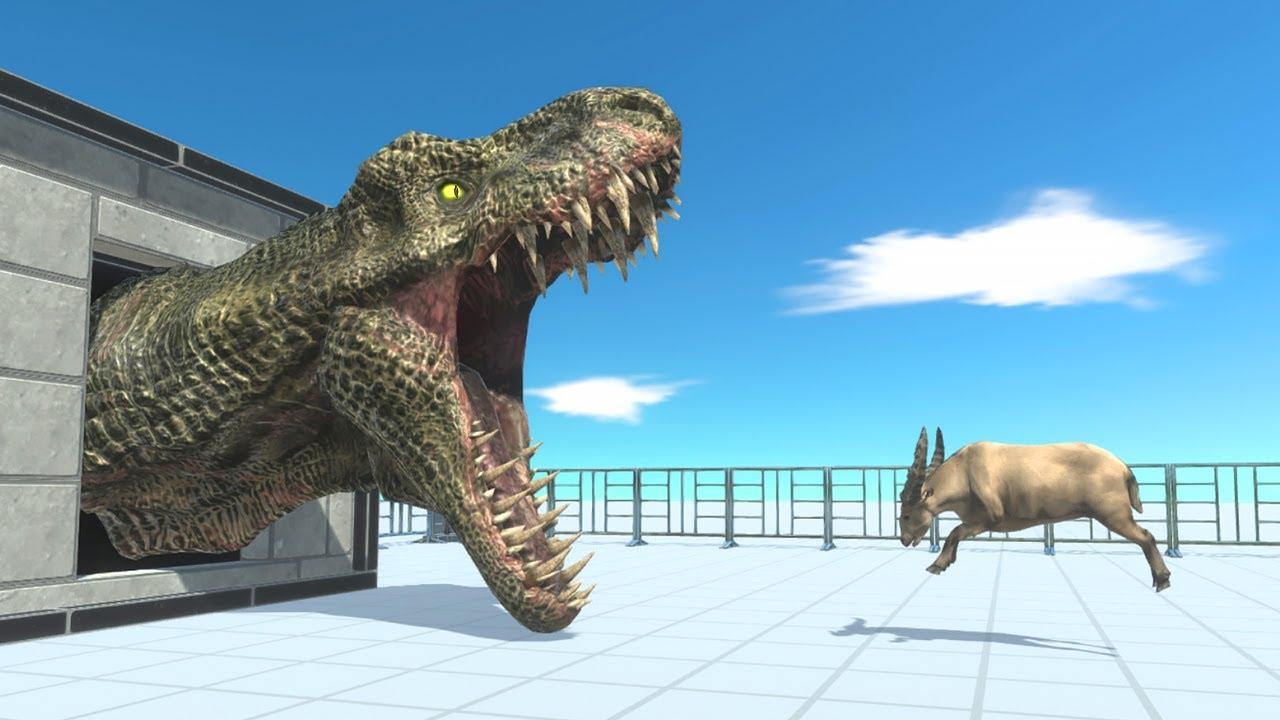 GIANT CARNIVORE HEAD - Animal Revolt Battle Simulator