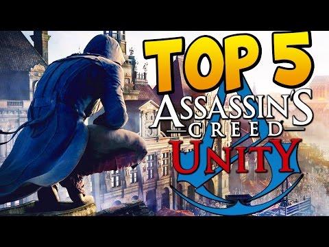 Assassins Creed Unity - Top 5 BEST ASSASSINATIONS!!!