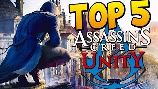 Assassins Creed Unity - Top 5 BEST ASSASSINATIONS!!! Thumbnail