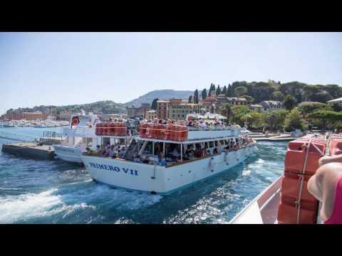 Italy 2016 Day11 of 12 - Must visit Portofino, Santa Margherita Ligure, BMW 1600 GTL Excl, GoPro4