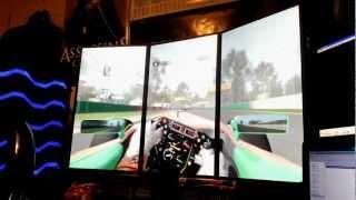 F1 2011 PC Gameplay Eyefinity 3240x1920