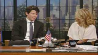 nick jonas on regis and kelly show part 2