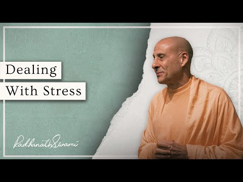 If You Feel Stressed, Watch this | Radhanath Swami