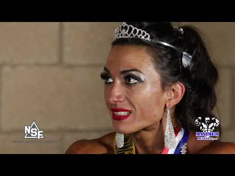 Valentina Mishina Wins The Women's Physique Division | 2019 IFBB Professional League Chicago Pro
