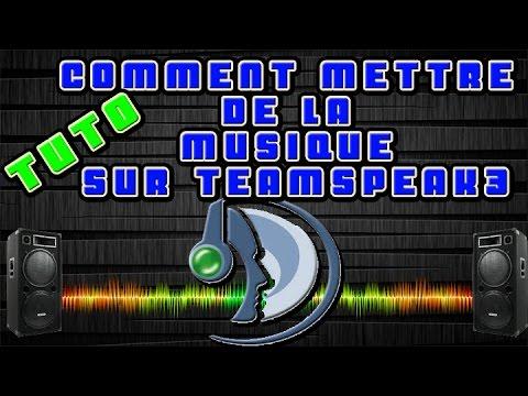 Comment mettre de la musique sur teamspeak 3 sans virtual audio!!!