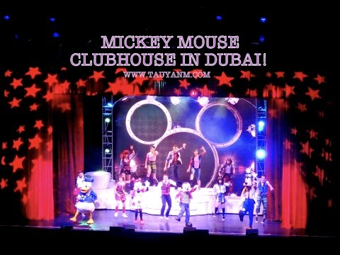 Mickey Mouse Club House in Dubai | @tauyanm