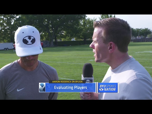 BYUSN Interview: Aaron Roderick 8.14.18
