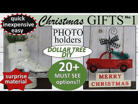 DOLLAR TREE DIY CHRISTMAS GIFT IDEAS 2019 | Quick, Easy, Inexpensive DIY gifts #1