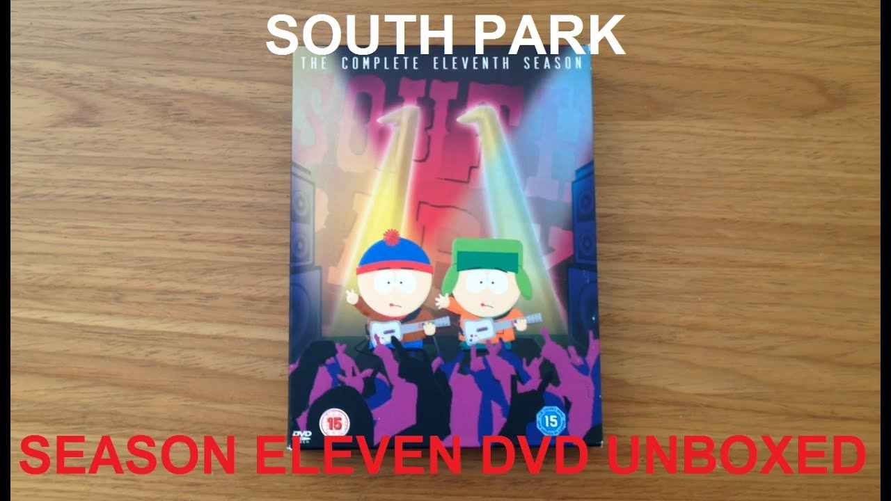 south park season 11 dvd box set review youtube. Black Bedroom Furniture Sets. Home Design Ideas