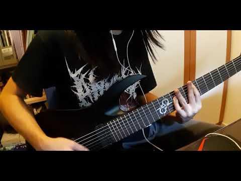 Vulvodynia--Flesh Tailor guitar cover (Solar A1.7ET/ Duncan Solar Pickups)