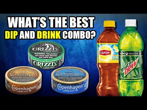 WHAT'S THE BEST DIP and DRINK COMBO?