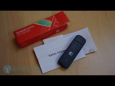 Test: Huawei E3372 LTE USB Stick   German