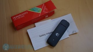 Test: Huawei E3372 LTE USB Stick | German